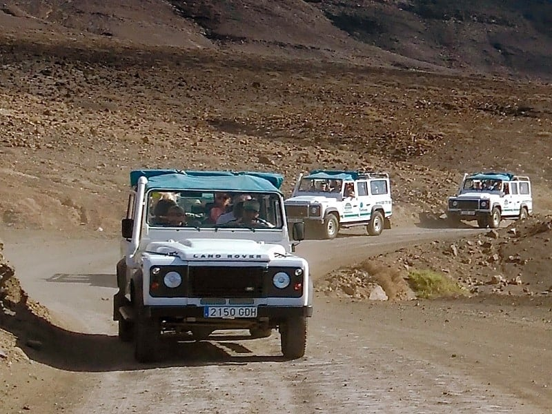 Lanzarote jeep tours