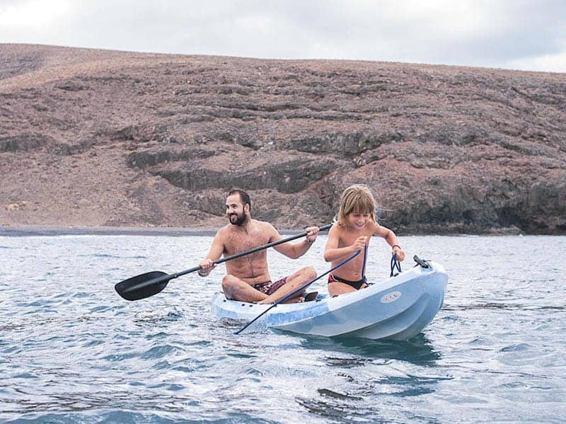 Boat excursion to Papagayo beach in Lanzarote