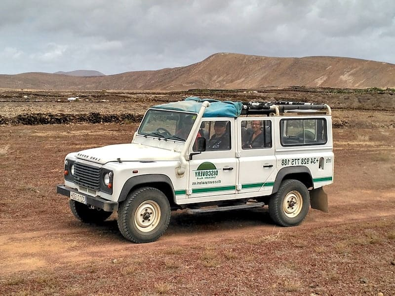 Jeep tour to Timanfaya National Park, Green Lagoon and more