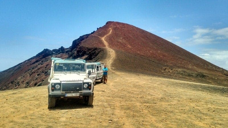 Guided tour in 4x4 in the south of Lanzarote