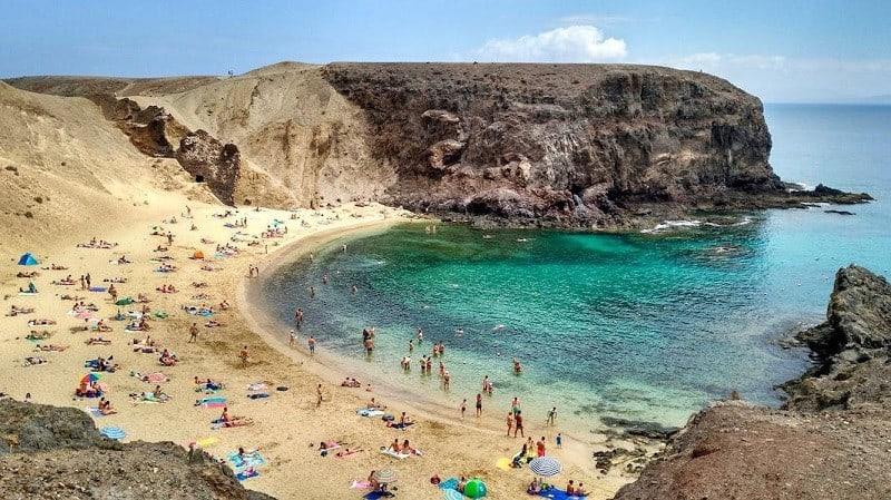 Strand von Papagayos