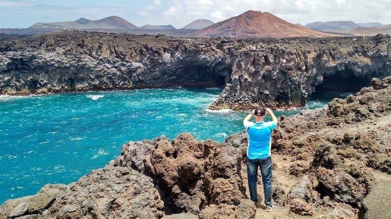 Cuevas marinas de Los Hervideros