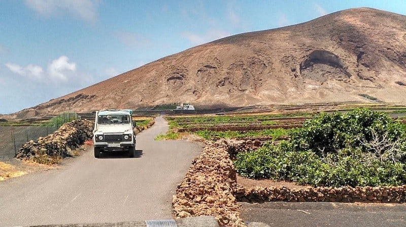 Jeep tour through the south of Lanzarote