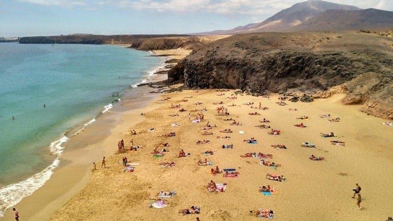 Strand von Papagayo