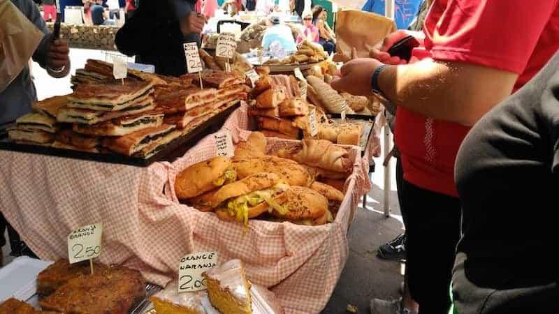 Brot und Süßigkeiten aus Lanzarote