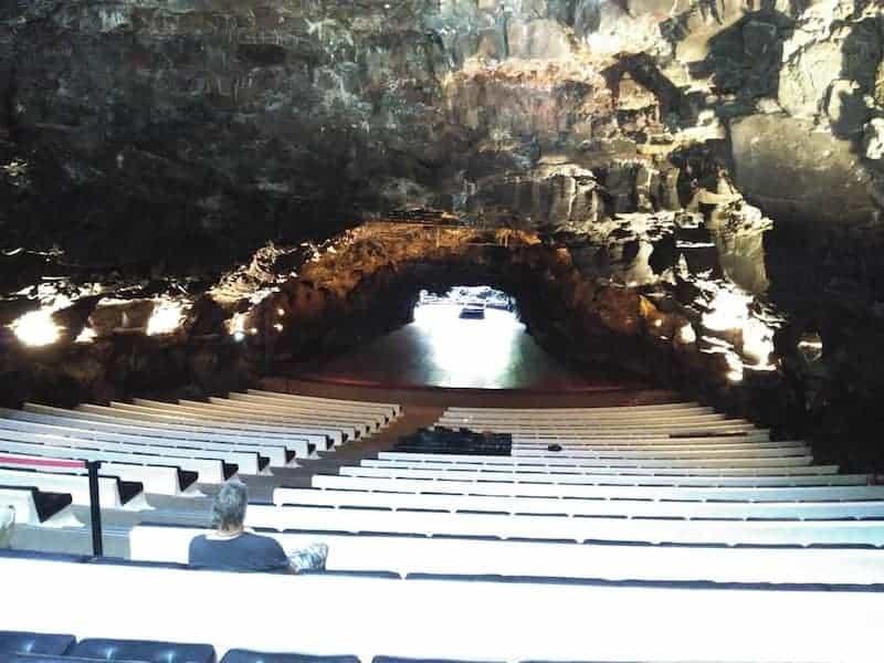 Auditorium von Lanzarote in Los Jameos