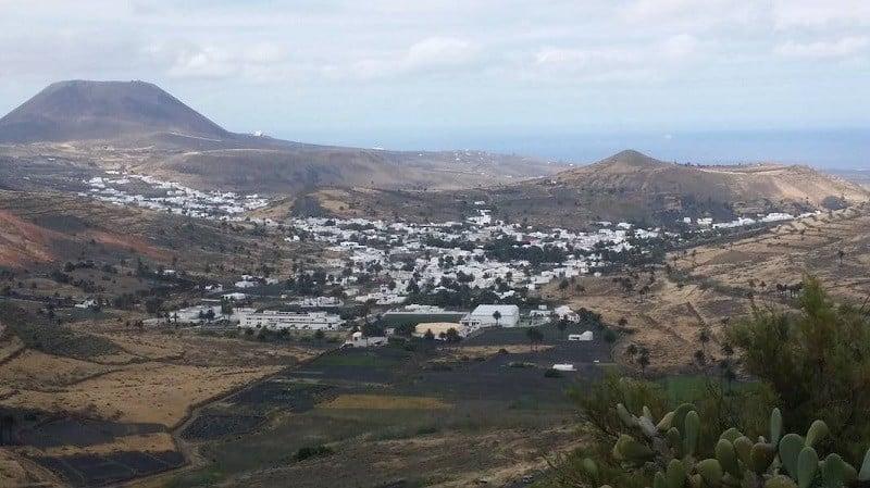 Ansichten aus der Sicht von Los Helechos