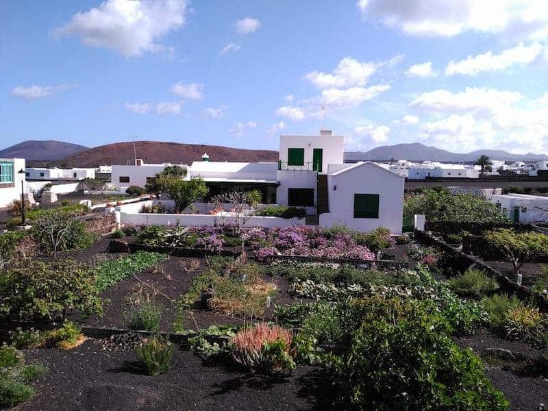 Casas blancas de Lanzarote