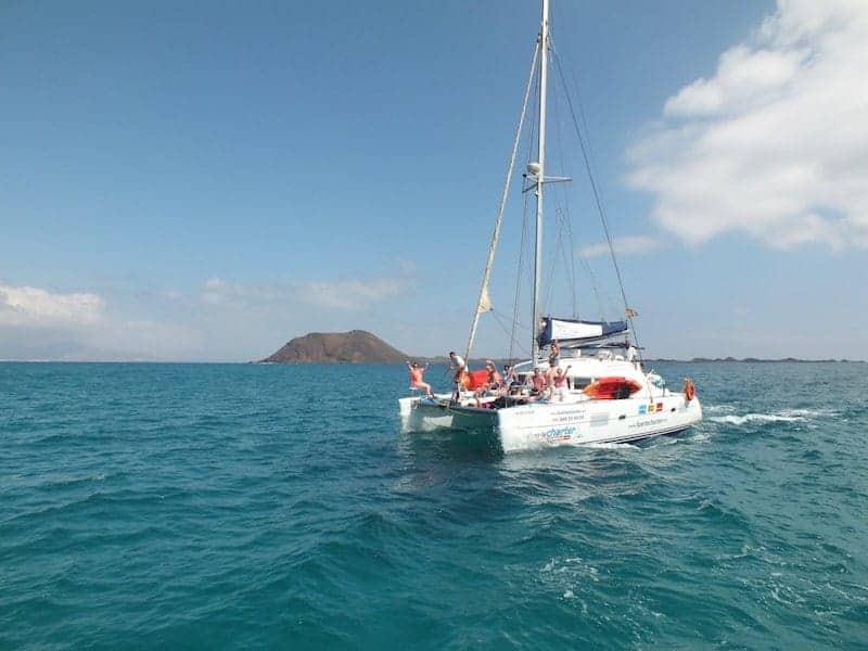 Barco desde Fuerteventura a Isla de Lobos