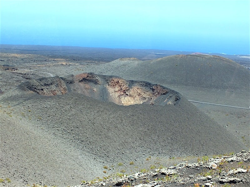 Volcanoes in Timanfaya