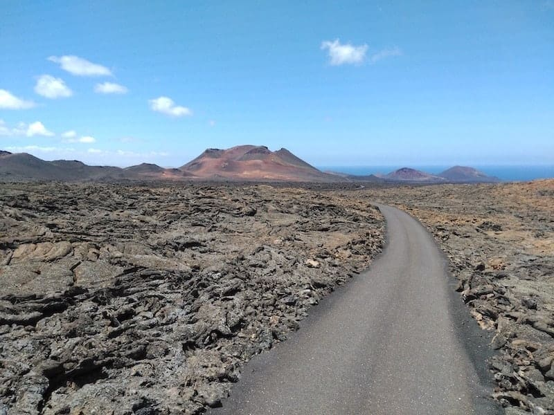 Landschaft des Nationalparks Timanfaya
