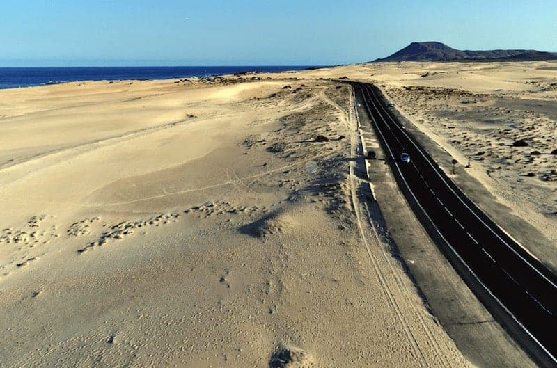 Guided tour from Lanzarote to Fuerteventura