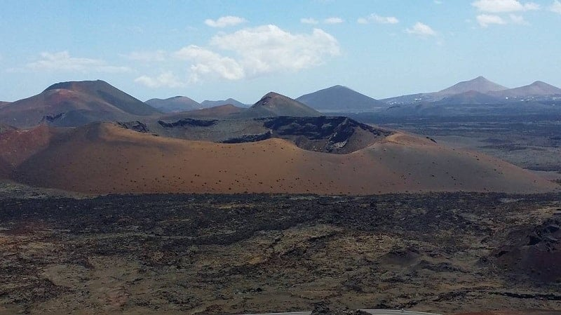 Timanfaya protected natural area